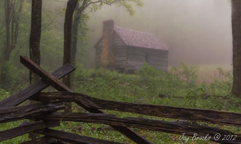 Jim Bale's Place - Roaring Fork Motor Nature Trail - Great Smoky Mountains National Park - Jay Brooks April 2012