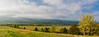 Cades Cove - Panoramic - Great Smoky Mountains National Park - Jay Brooks - April 2012