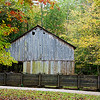 LeQuire Cantilever Barn in Cades Cove