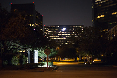 Bechtel at night