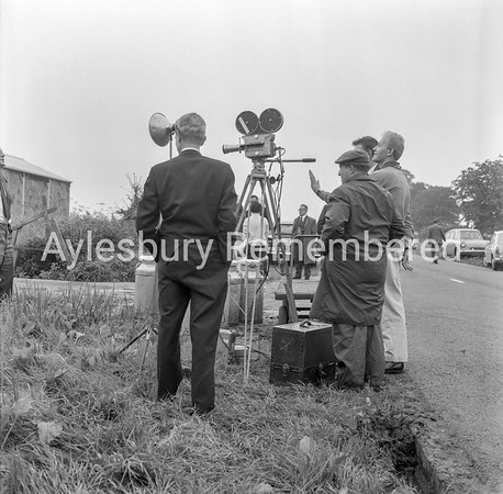 TV crew at Oakley, Aug 15th 1963