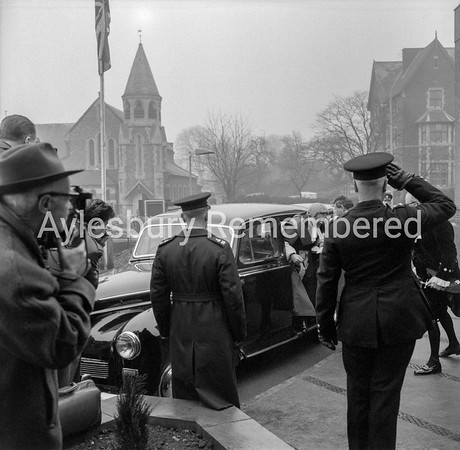 Judge arriving at RDC Offices, Jan 20th 1964