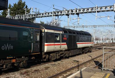 """43185, """"Great Western"""", Swindon Station"""