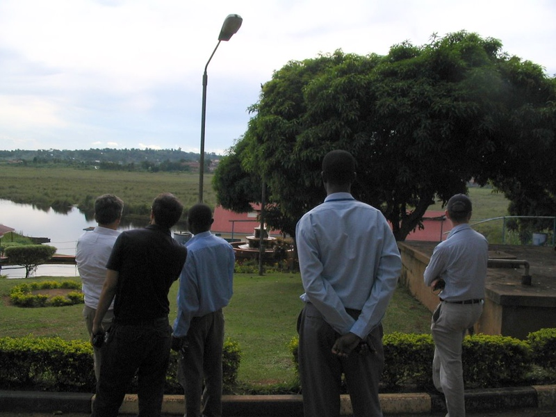 Nabajuzi swamp. Water supply for Masaka, Uganda
