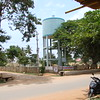 Water tower in Bangalore, India