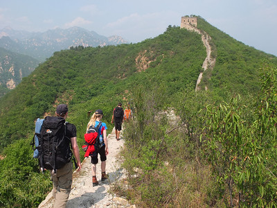 spring mountain great wall camping
