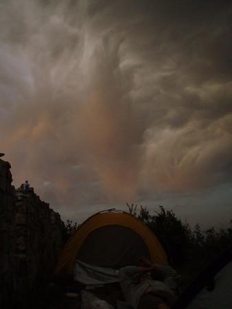 【May】Border defense great wall camping