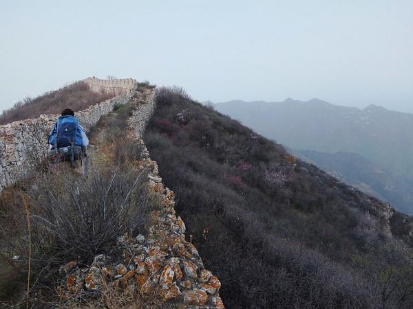 Great wall hiking camping trip