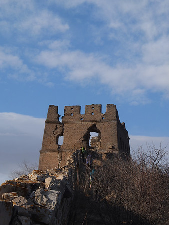 【March】Border denfense great wall camping 2days