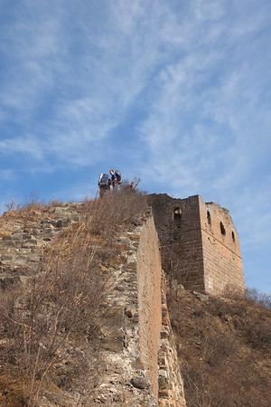 winding dragon great wall camping 【March-April】