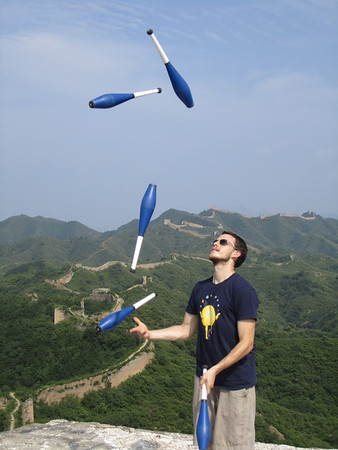winding dragon great wall camping in jul