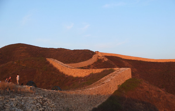 hiking  and camping  around Beijing