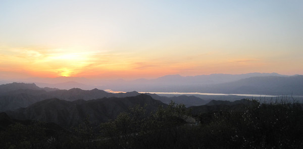 hiking  and camping  around Beijing