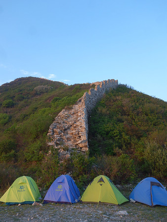 General Xu Great wall camping + hotspring