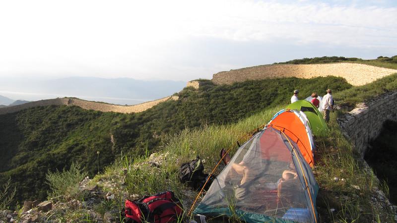 hiking camping around Beijing