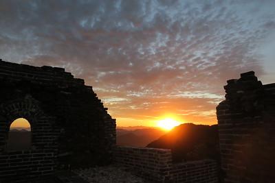 Best sunset wild Badaling Great wall camping (2days)