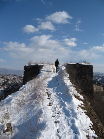 Gubeikou great wall【 winter】
