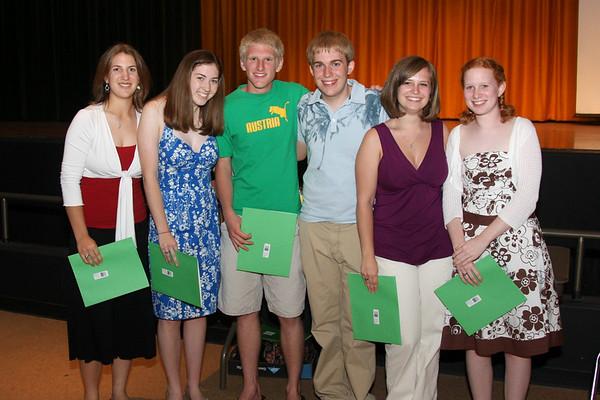 Band Banquet Awards 2008