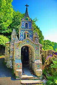 Front door to the Little Chapel