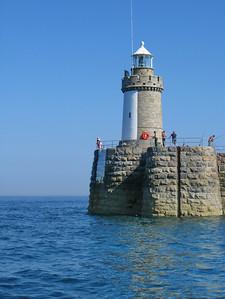 St. Peter Port lighthouse