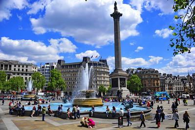 Trafalgar Square  London, England