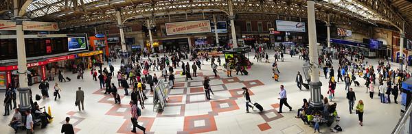 Victoria Station  London, England