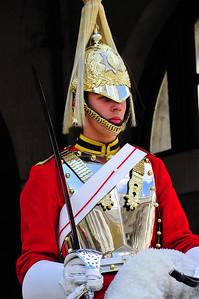 Guarding #10 Downing Street London, England