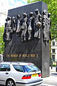 Women of World War II monument  London, England