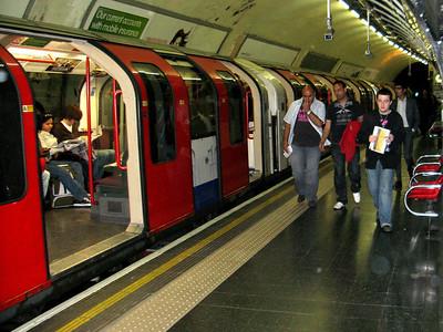 "London subway, ""the Tube""  London, England"