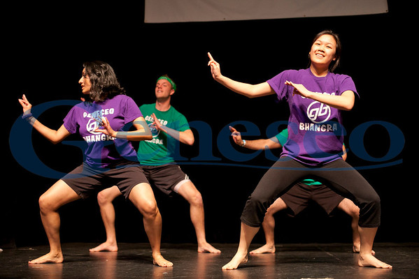 Geneseo Bhangra Club performs during Great Day - Photo by Keith Walters Geneseo Office of College Communications