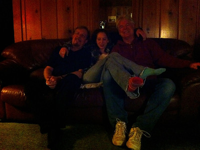 Bob, Katie, Greg.  (Katie's socks are cool ;)  )