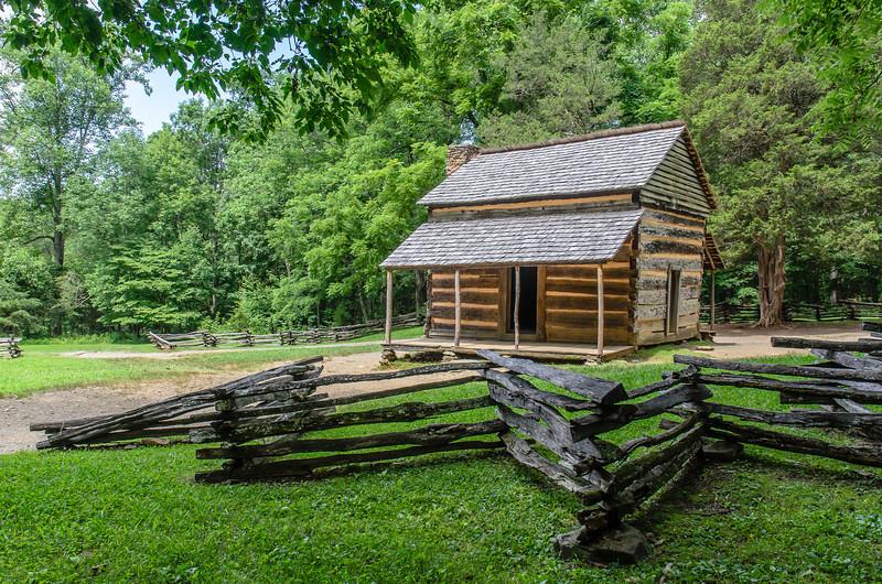 John Oliver's cabin.