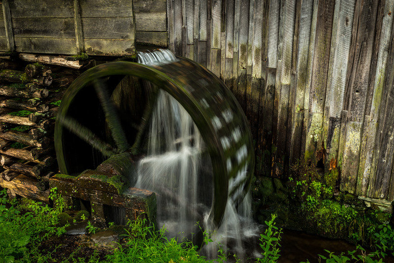 Cable Mill Wheel in motion