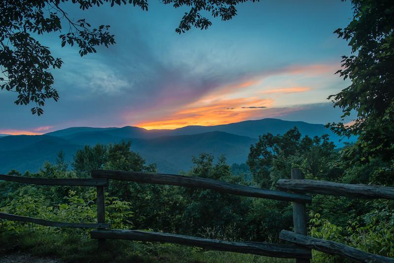 Cataloochee Sunset