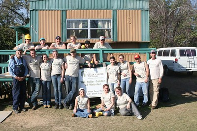 09 03 Minden, LA - Students from Anseth College, NH
