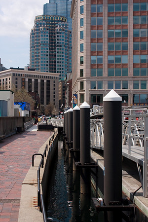 Central Wharf, downtown Boston.