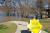 Flood of March 2011 from Bellevue Beach Park