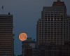 full moon, Cincinnati, 3-9-12<br /> It pays to have a camera with you. Saw this on the way to work Friday (3-9-12) and took advantage of a few minutes I had to spare. Not as sharp as I would have liked--not my best camera and glass, and no tripod--but still, a pretty awesome sight!