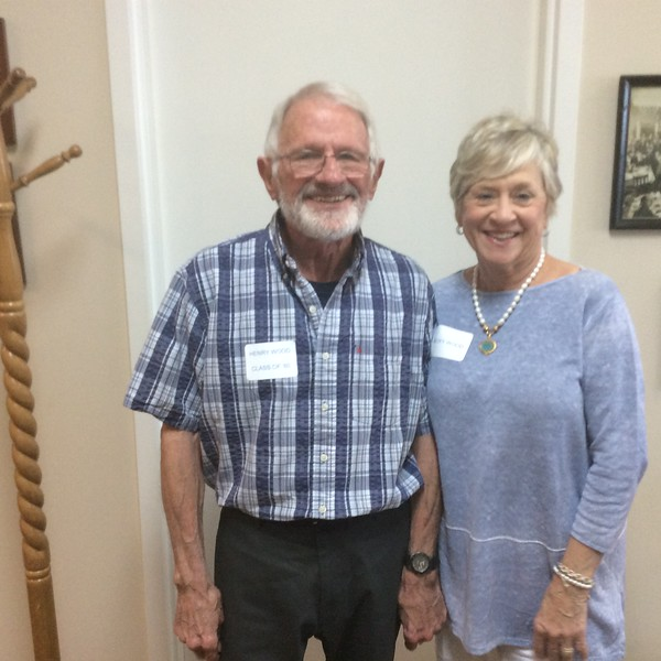 HENRY WOOD, CLASS OF '60 and Becky Wood