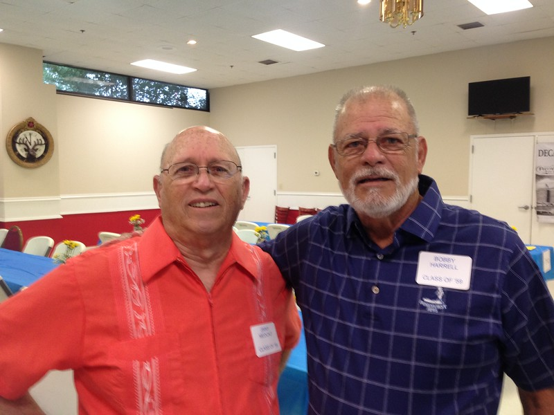 JIMMY MEDCALF, CLASS OF '59  AND BOBBY HARRELL, CLASS OF '59,
