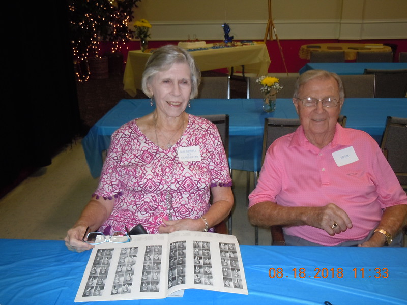 SUE SEWELL NIX, CLASS OF '49 and ED NIX