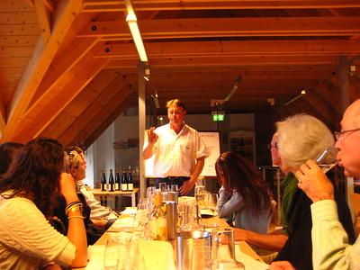 Wine/grape juice tasting at Freie Weingartner Wachau