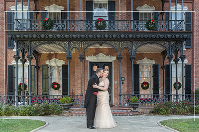 Great Gatsby styled New Year's Eve wedding at the historic Ashton Villa on Galveston Island Texas