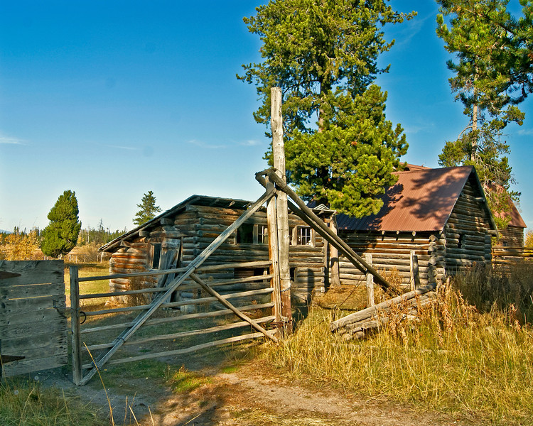 The Old Mill Creek Ranch, Island Park, Idaho