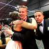 Let the hugs begin at the Greater Lowell Tech Prom night at the Boxboro Regency. SUN/David H. Brow