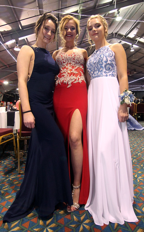 . Students at the Greater Lowell Tech Prom at Boxboro Regency. SUN/David H. Brow