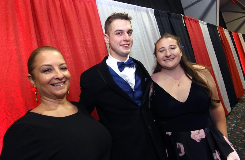 At the Greater Lowell Tech Prom Night L-R, Jill Davis GrLowell Assit. Supt/Principal, SUN/David H. Brow