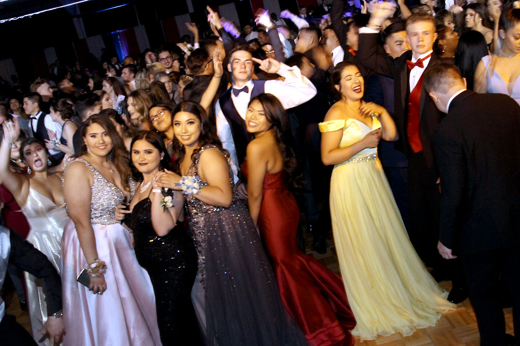 . Greater Lowell Tech Prom Night. SUN/David H. Brow