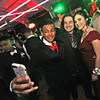 Doing selfies at the Greater Lowell Tech Prom, L-R, Gabriel Pena 18, Al Mafra 17 and Analie Pizzo 18. SUN/David H. Brow