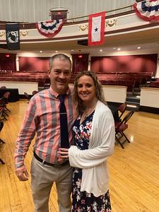 Navy veteran Eric LaMarche (Persian Gulf ) and Mindy Lamarche of Lowell